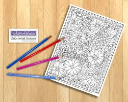 pattern art pdf flower art coloring page floral pattern with border doodle coloring