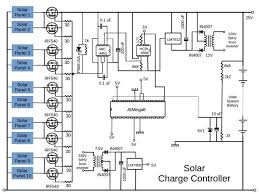 wiring diagram pwm based solar charge controller circuit diagram