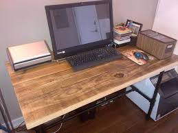 Dining Room Computer Desk Diy Pallet Dining Table Computer Desk 101 Pallets