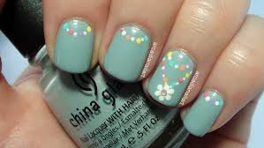 32 simple flower nail designs 15 easy simple spring flower nail