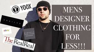 top 5 websites for cheap men u0027s designer clothes youtube