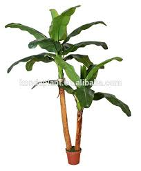 banana trees cheap artificial tree plants rubber tree plant