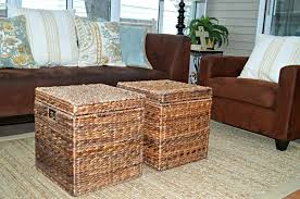 Seagrass Storage Ottoman Seagrass Storage Ottoman Wicker Storage Ottoman Wicker Ottoman