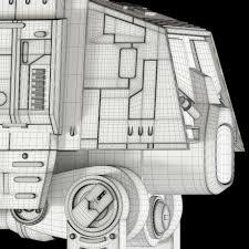 star wars at act walker 3d model cgstudio