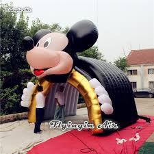mickey mouse s day customized mickey mouse tunnel for comics show and