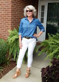 casual clothing for women over 50 fifty not frumpy casual style after 50