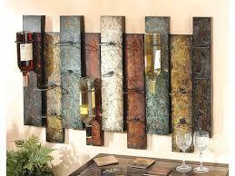 interesting design decorative wall wine rack sensational ideas