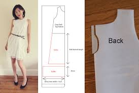 free pattern how to make a ruffle lace dress ワンピース作り方