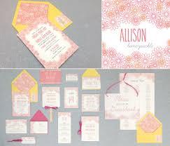 a diy floral wedding invitation suite for summer