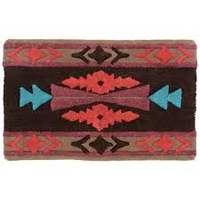 Black And Red Bathroom Rugs by Dancing Diamonds Bath Rug Out Of Stock