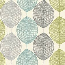 arthouse retro leaf pattern leaves motif designer wallpaper 408207