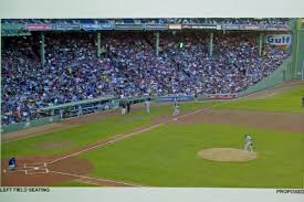Fenway Park Seating Map Fenway Ok U0027d For Dugout Seating Boston Herald