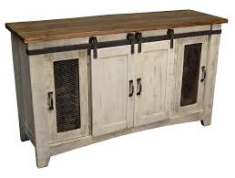 distressed white console table amazon com crafters and weavers granville white 60 tv stand