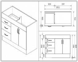 Kitchen Corner Base Cabinets Kitchen Sink Cabinet Dimensions Home Design Ideas