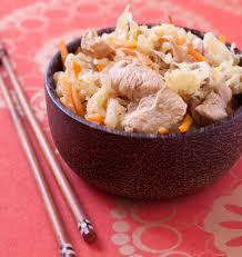 cuisine chinoise poulet poulet sauté au chou chinois carottes et gingembre les