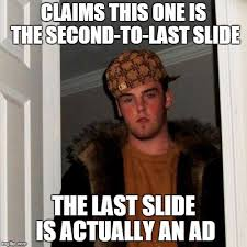 Meme Websites - scumbag slideshow websites imgflip