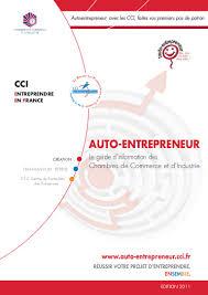 auto entrepreneur chambre de commerce guide de l auto entrepreneur 2011