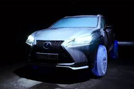 lexus victoria hours lexus makes car with tyres made of ice wired uk