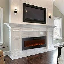 Amazon Gel Fireplace by Best 25 Wall Mount Electric Fireplace Ideas On Pinterest Wall