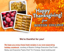 thanksgiving message to employees home annual giving network