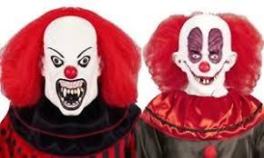 killer clown mask circus psycho killer clown mask twisty 80s horror