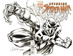 spider man 2099 inks spider man 2099 spider man