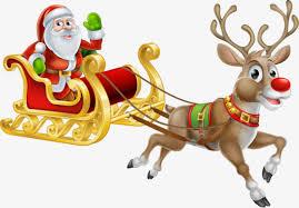 imagenes animadas de renos de navidad pintado a mano de renos santa claus reno navidad imagen png para