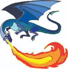 dragon fire pit cartoon fire clipart 53