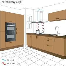 une hotte cuisine hauteur d une hotte cuisine plaisant hauteur de hotte de cuisine