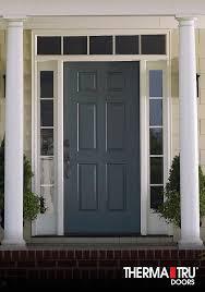 Therma Tru Exterior Door 37 Best Smooth Images On Pinterest Entrance Doors Front