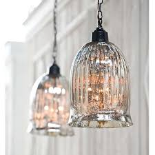 Glass Light Pendant Mercury Glass Mini Pendant Lighting Leandrocortese Info