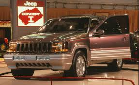 jeep concept truck gladiator 1988 jeep concept 1 concepts