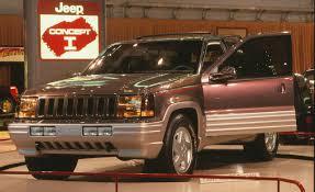 jeep prototype truck 1988 jeep concept 1 concepts