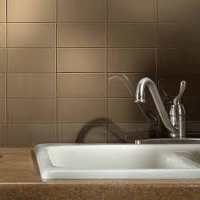 Aspect X Glass Backsplash Tile In Sienna Bark - Aspect backsplash tiles