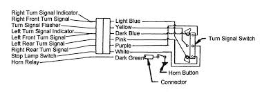 1965 chevy truck turn signal wiring diagram wiring diagram and