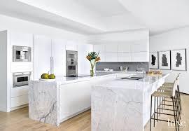 modern kitchens miami 50 sleek white kitchens luxedaily design insight from the