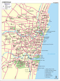 India Satellite Map by Chennai Map