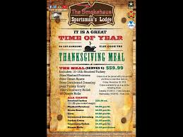 thanksgiving meal to go sportsman u0027s lodge archives clarksville tn online