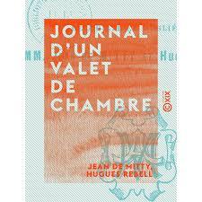 un valet de chambre journal d un valet de chambre e books littérature française cultura