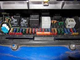 1999 audi a4 fuse box location audi wiring diagrams for diy car