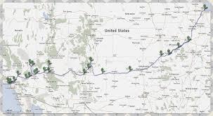 Route 66 Map Legendäre Route 66 Bikethebest