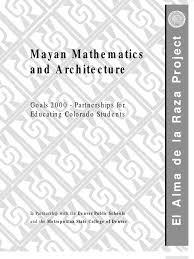 matematica si arhitectura maya civilization numbers