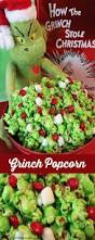 grinch popcorn u2013 edible crafts