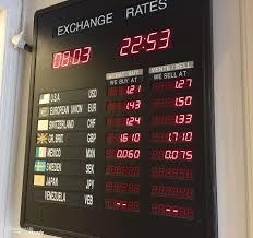 bureau de change meilleur taux changer ses devises astuces pour échanger de l argent pour voyager