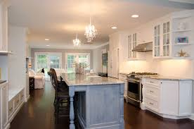 kitchen islands peninsulas design line kitchens in sea girt nj blue kitchen island