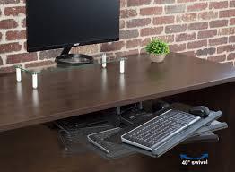 Mouse Platform Under Desk Mount Kb04c Black Adjustable Computer Keyboard U0026amp Mouse