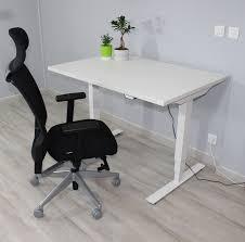 bureau debout assis bureau ergonomique réglable en hauteur électriquement