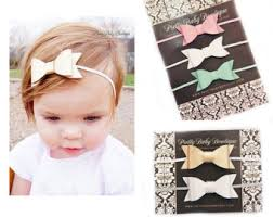 bow headbands leather bow headband etsy