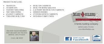 custom cabinetry u0026 fine woodworking deloof builders llc