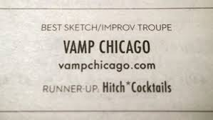 vamp a music comedy drinking show mcl chicago